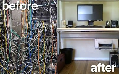 For All Of Us Tech Geeks Out There Who Have Cables Going Every - Creative and stylish solution to hide electrical wires cluttering a room