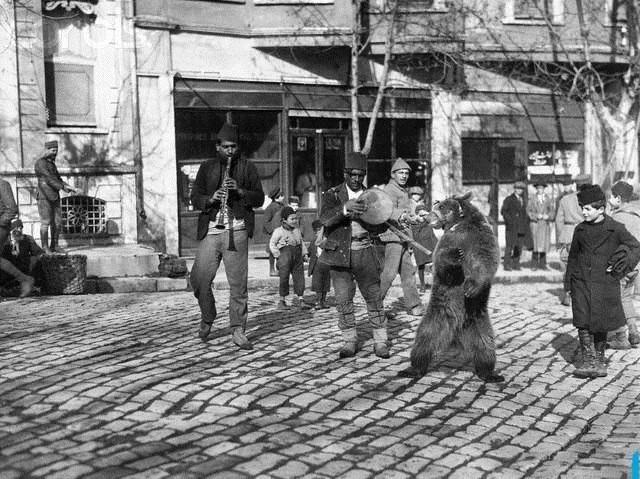 1910'da İstanbul sokakları #istanlook
