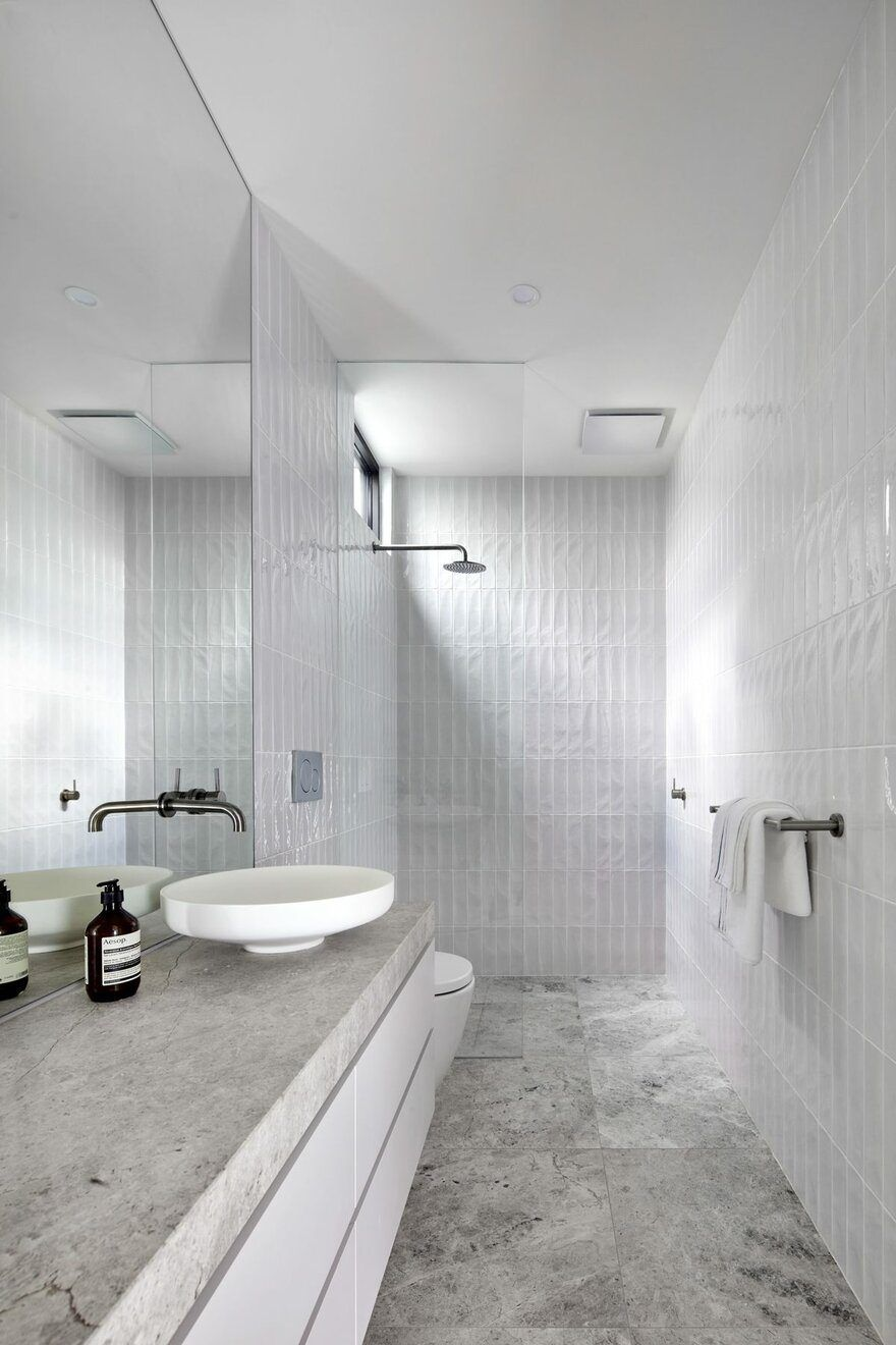 Cressy Townhouses Megowan Architectural Modern Bathroom Design