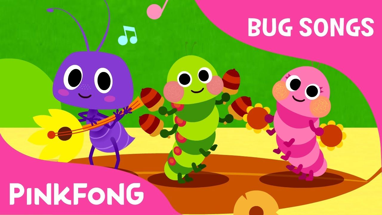Bugu0027n Roll | Bug Songs | Pinkfong Songs For Children