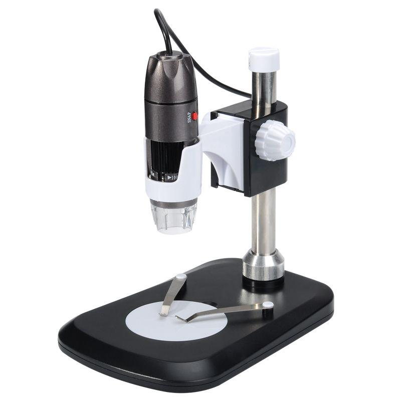 Digital Usb Microscope 2mp 1000x Photo Video Record 8 Leds