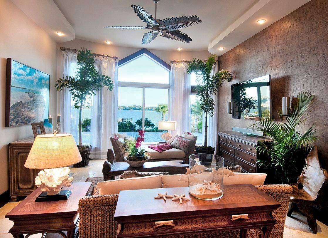 Beautiful Beautiful Tropical Living Rooms For Hall