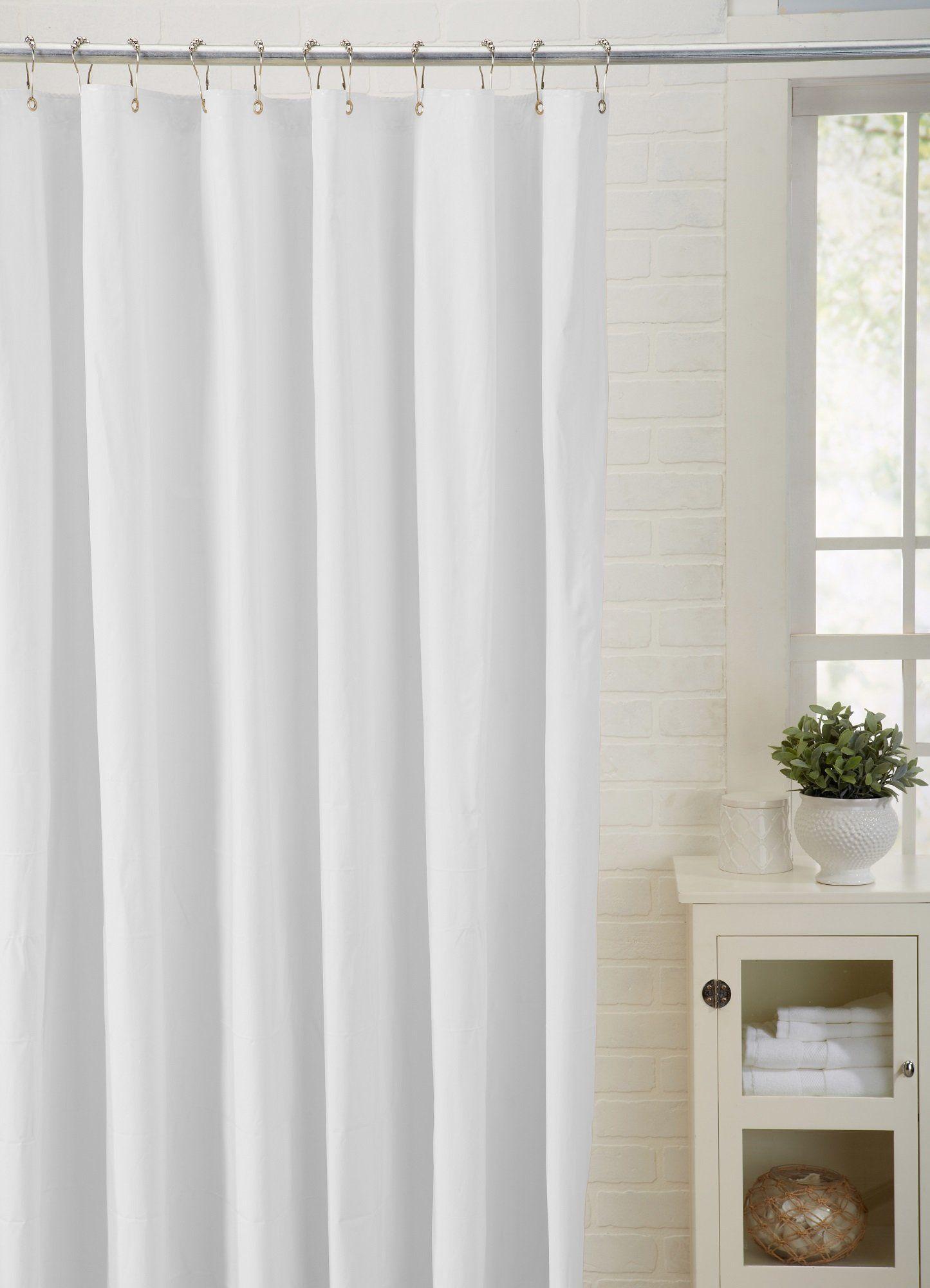 Spa Bath Works Mildew Resistant 100 Peva Shower Curtain Liner