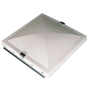Roof Vent Lid, 14×14, Elixir, Galvanized Metal-90084-CR by