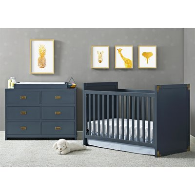 Mack Amp Milo Sumitra 5 In 1 Convertible Crib With Storage