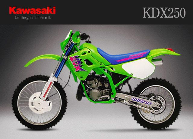 Kawasaki KDX250 I Think When Was 13yo This The Bike Lusted After MostThat Until Saw A