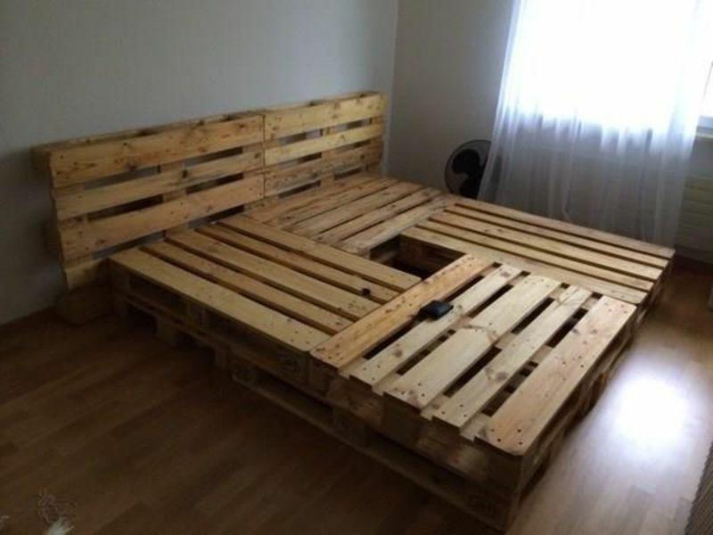 Europaletten Bett Ganz Einfach Selber Bauen Ausfuhrliche Anleitung Anleitung Ausfuhrliche Bauen Bett Einfac In 2020 Europaletten Bett Europalette Palettenholz