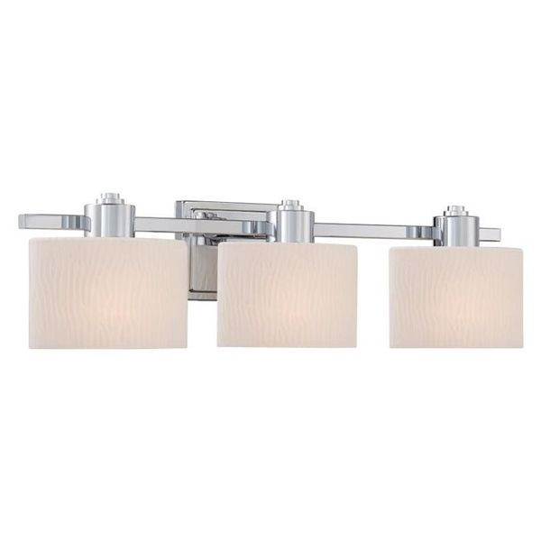 Shop allen roth grayson polished chrome bathroom vanity light at lowes canada find our selection of bathroom vanity lighting at the lowest price