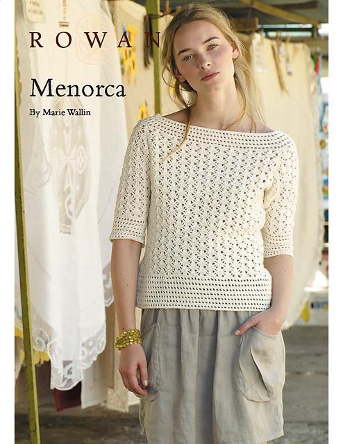 Ravelry: Menorca pattern by Marie Wallin - free pattern [fingering ...