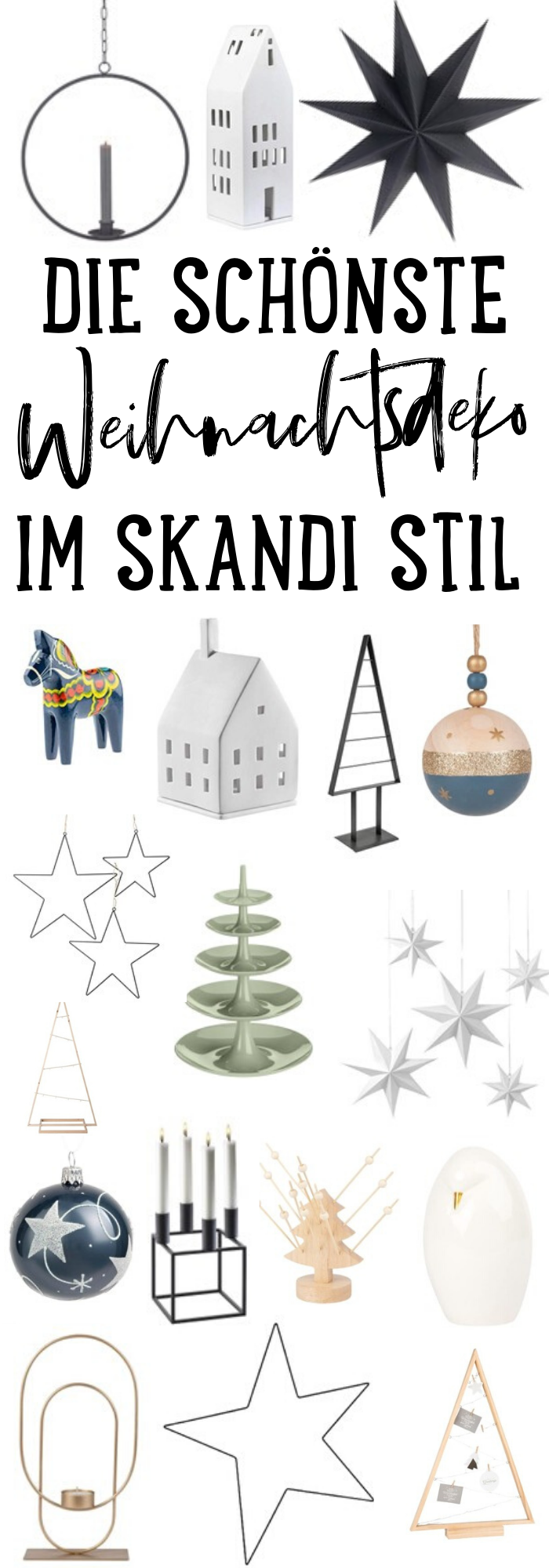 Besondere WEIHNACHTSDEKO im SKANDI STYLE – Skandi Christmas