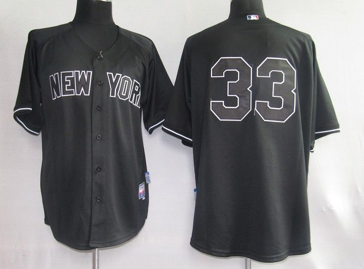 online store 8a47c 5c466 mlb jerseys new york yankees 33 nick swisher full black jerseys