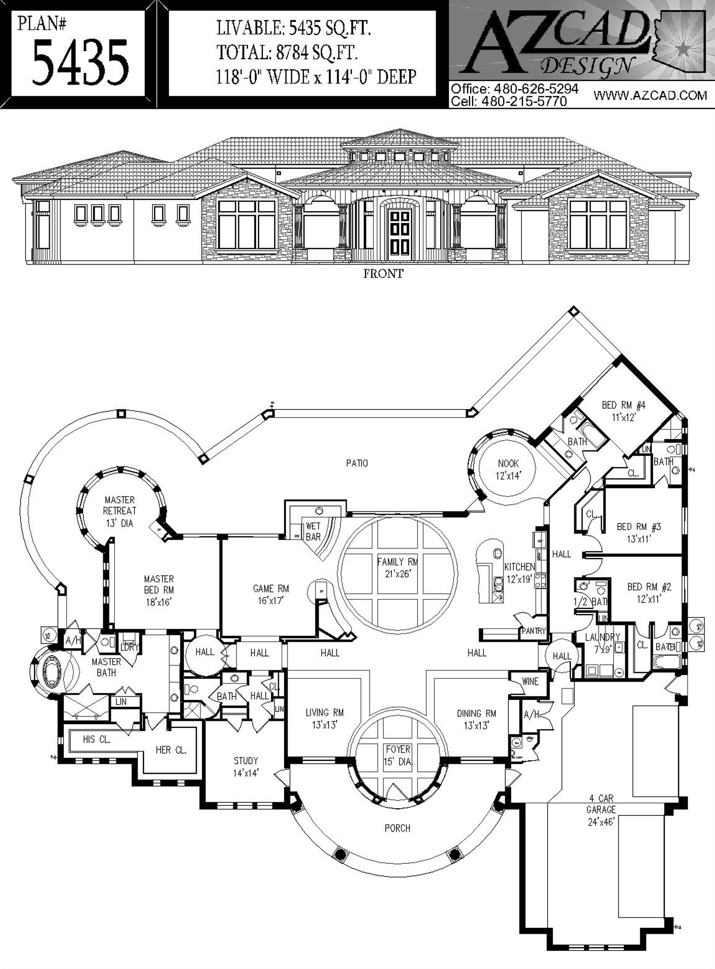 Azcad Com Drafting Arizona House Plans Floor Plans Houseplans Arizona House Floor Plans House Plans