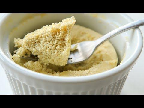 Healthy Low Carb Vanilla Mug Cake   Recipe   Low carb ...