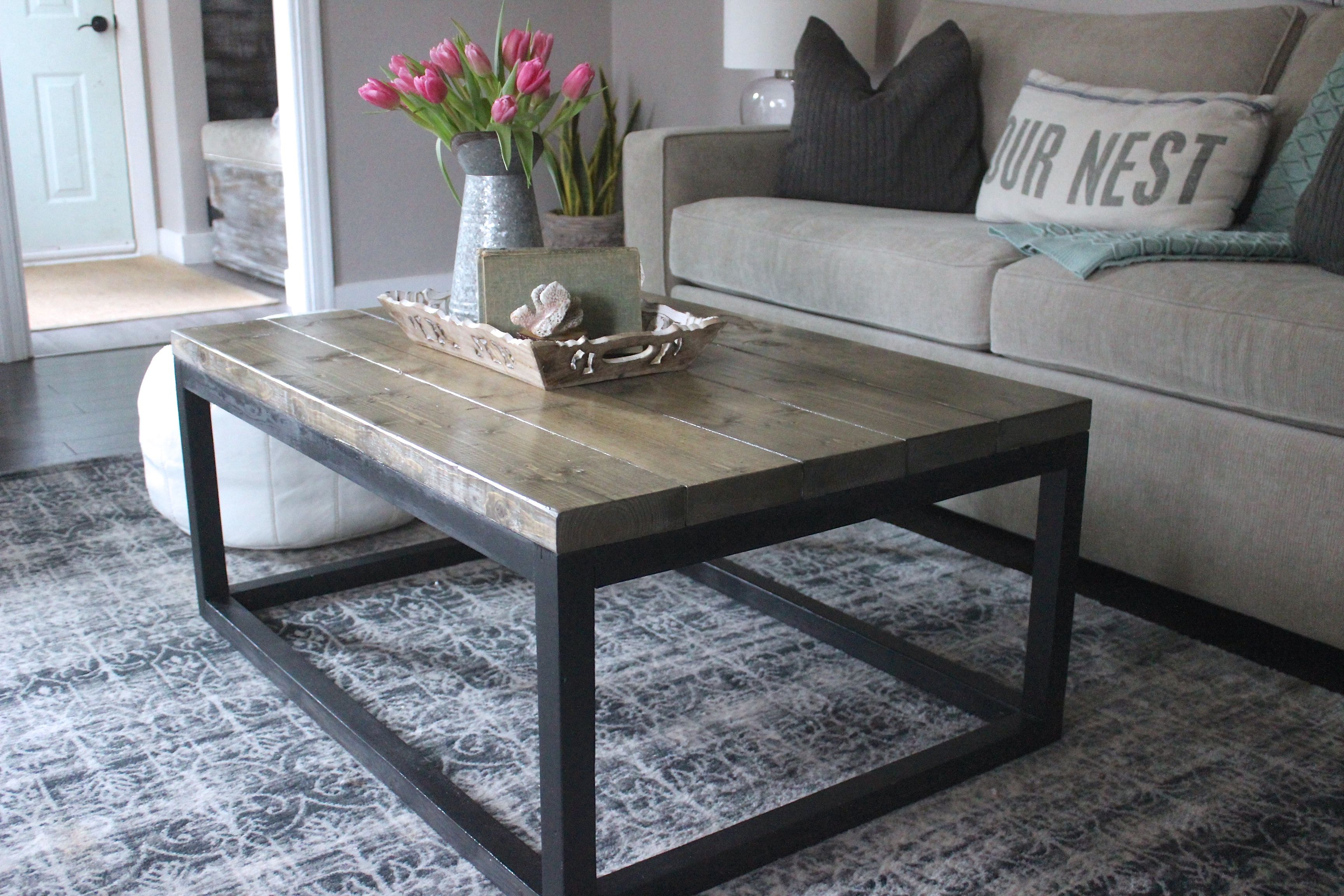 Couchtisch Industrial Style Industrial Coffee Table Do It Yourself Home Projects From Ana