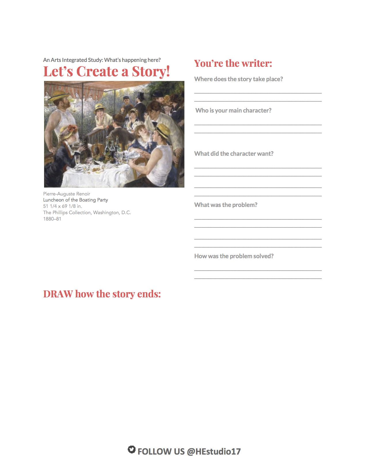Free Download Here S A Great Arts Integration Worksheet