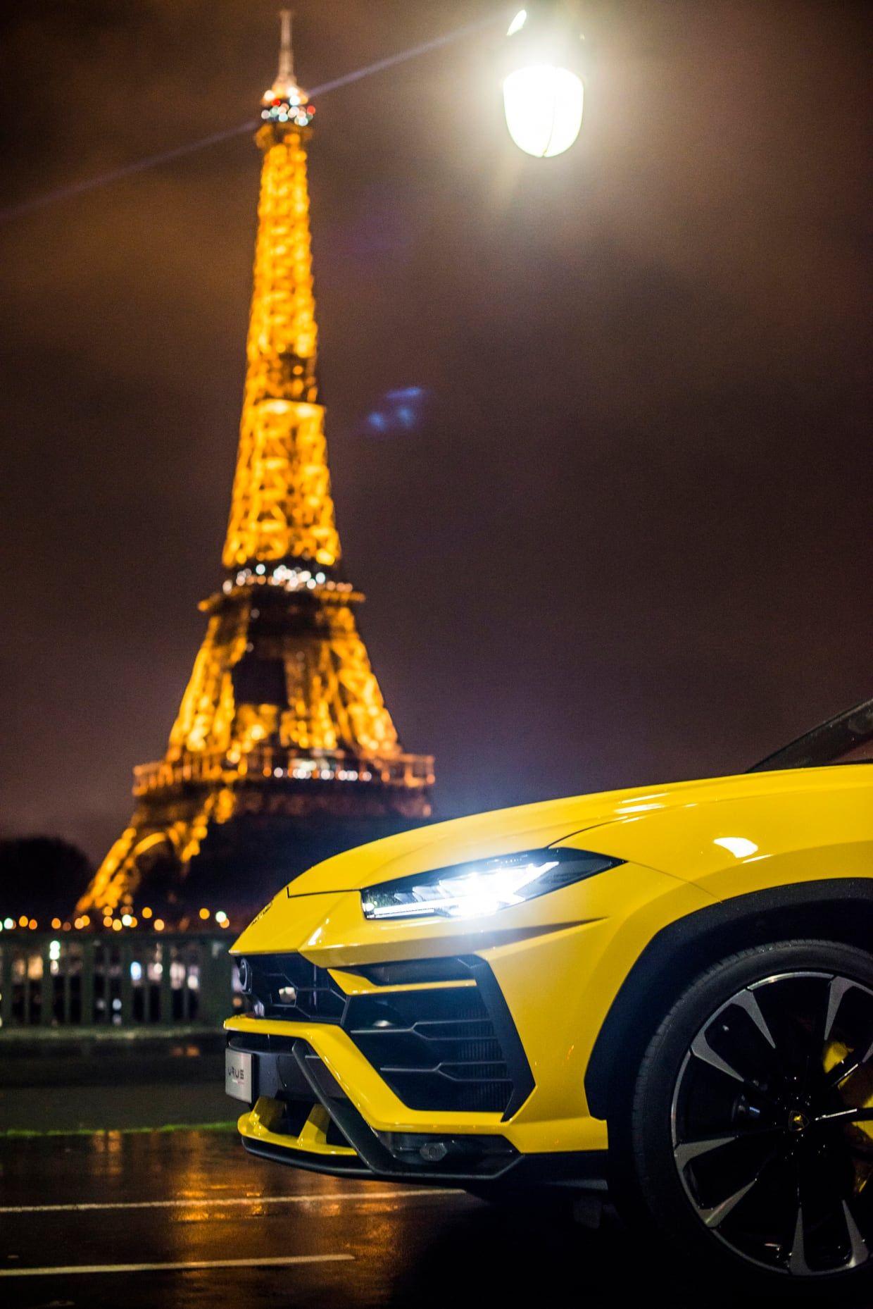 20 brutzelnde Fotos des Lamborghini Urus in Paris   – Тачка