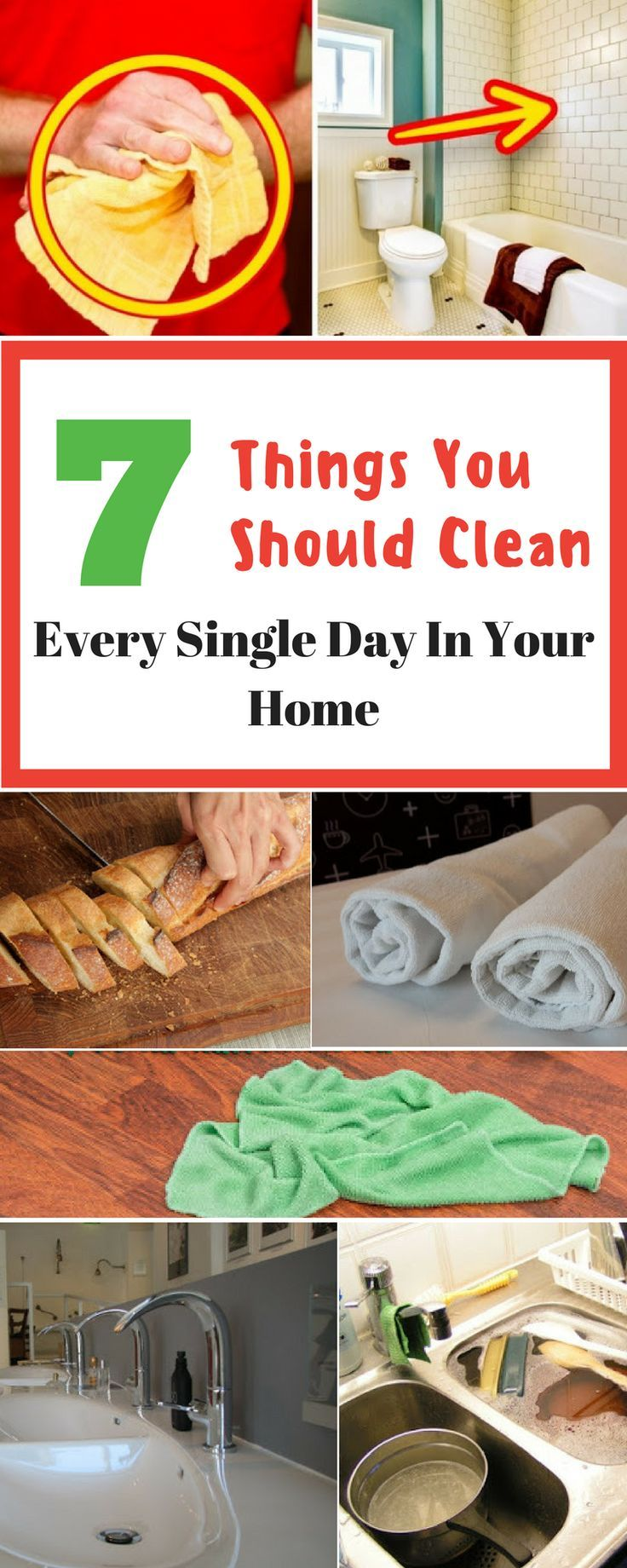 7 Things You Should Clean Every Single Day