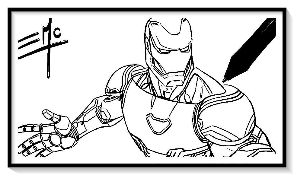 Dibujos De Iron Man Para Colorear En Linea Colorear E Imprimir Ironman Ironman Para Pinta Iron Man Drawing Iron Man Pictures Avengers Coloring Pages