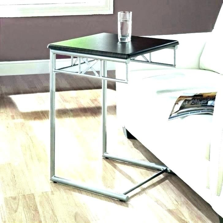 Slide Under Sofa Tray Table All Sofas For Home In 2019 Sofa