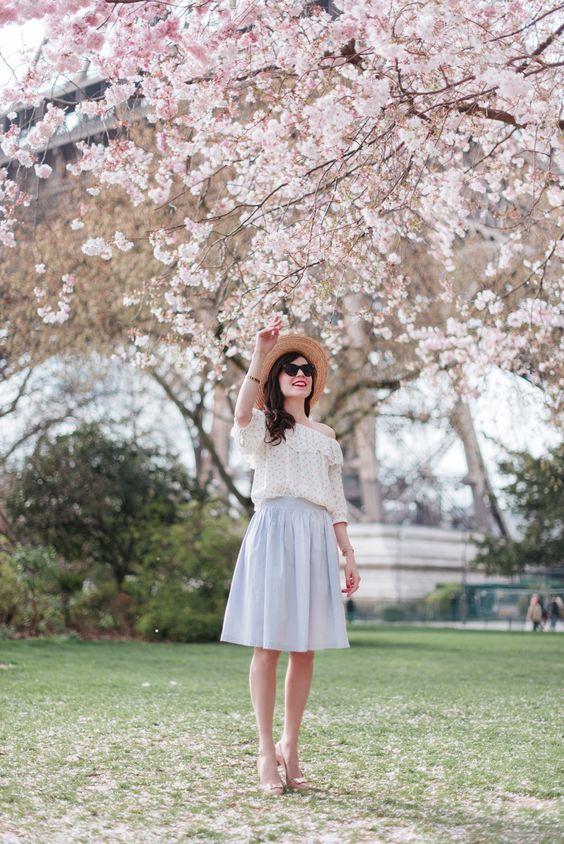 Frühlingslook: 20 beste Kombinationen aus modischer Pastellbekleidung #businesscasualoutfitsforwomensummer