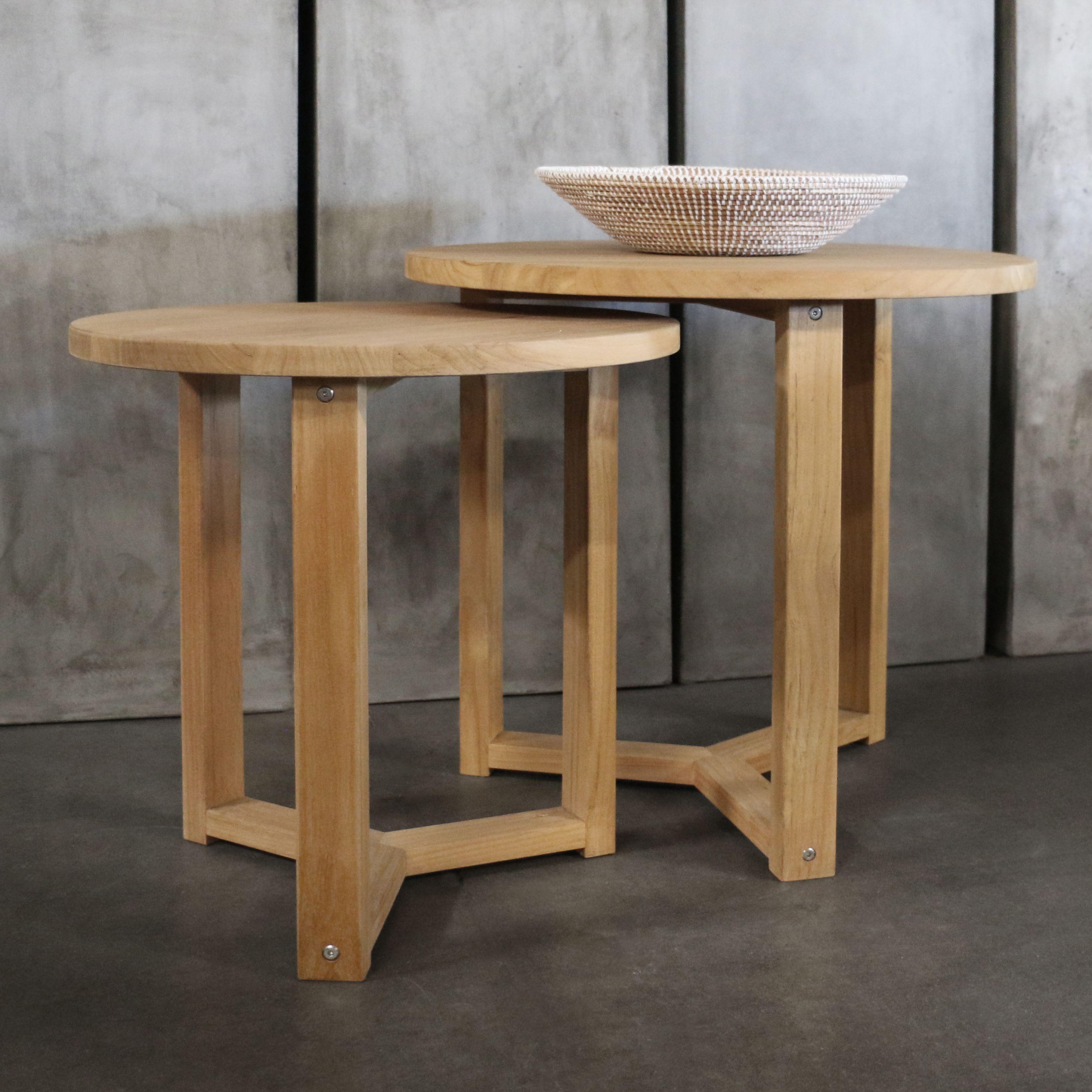 Ying Teak Accent Tables Teak Accent Table Teak Wood Side Table Teak Side Table