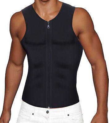 b6b76de3ec Sauna Sweat Shirt Bodysuit Men Body Shaper Slimming Waist Trainer Tank Top  Vest