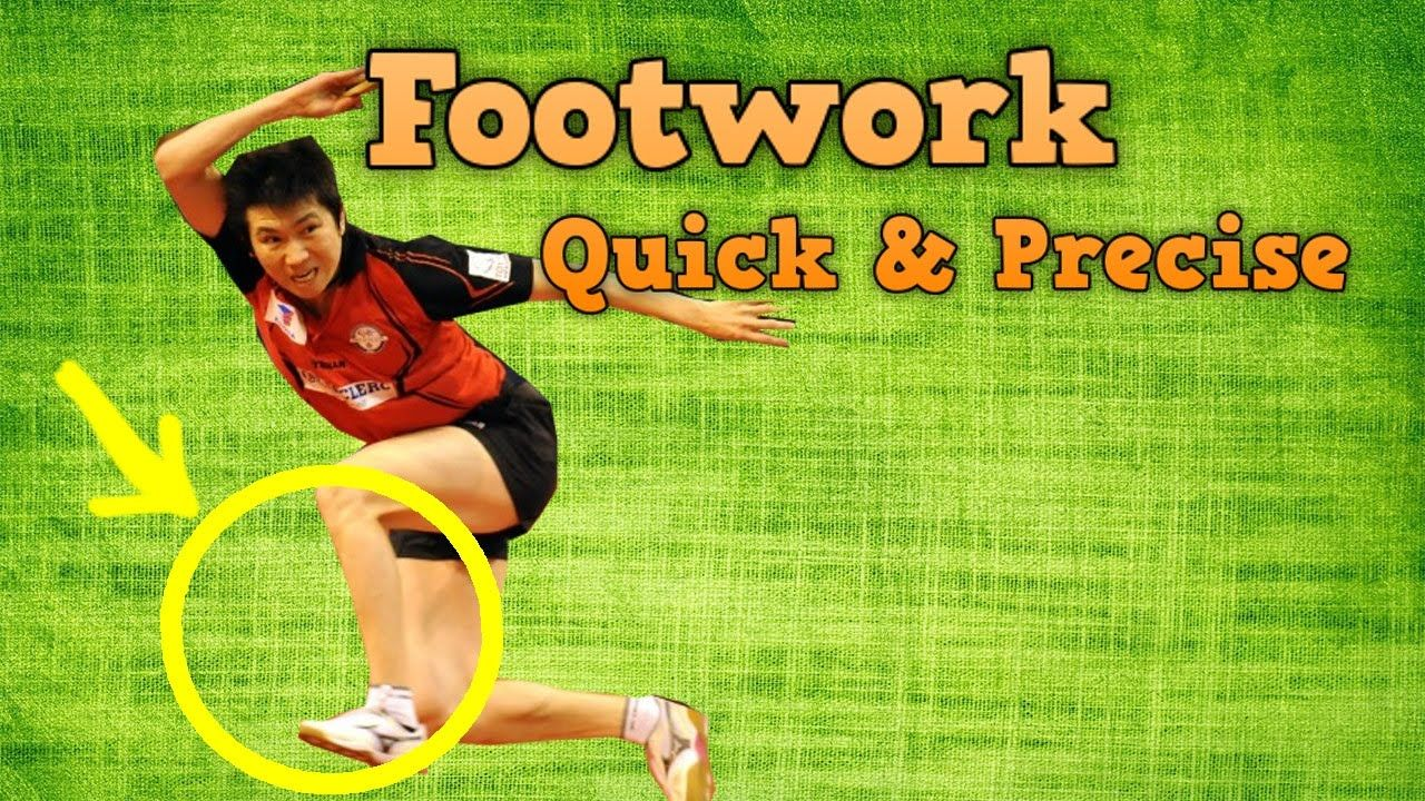 Table Tennis Exercises To Improve Footwork Youtube Tennis Workout Table Tennis Exercise