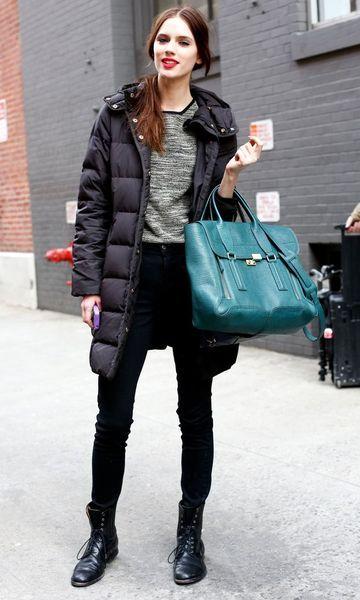 Moda it - Look de inverno: Puffy Jacket + Coturno | Moda it
