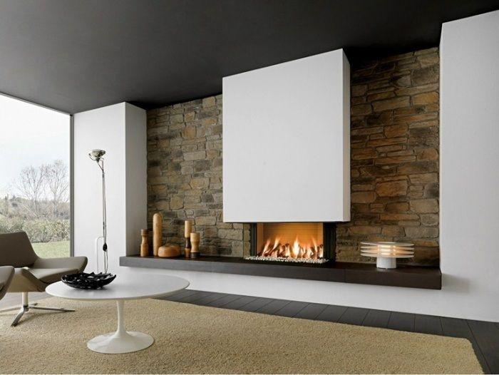 chemin e design 2015 pour se chauffer avec du style. Black Bedroom Furniture Sets. Home Design Ideas