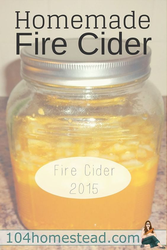 Homemade Fire Cider - After the initial shock at such a powerful taste, I was amazed by how quickly the Fire Cider went to work. By the next morning, I felt better than I had in days.