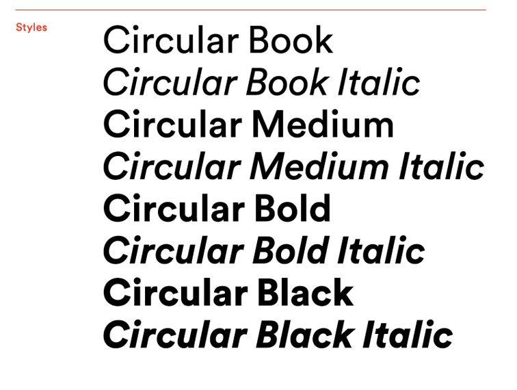 Circular pro | Typography | Typography fonts, Typographic