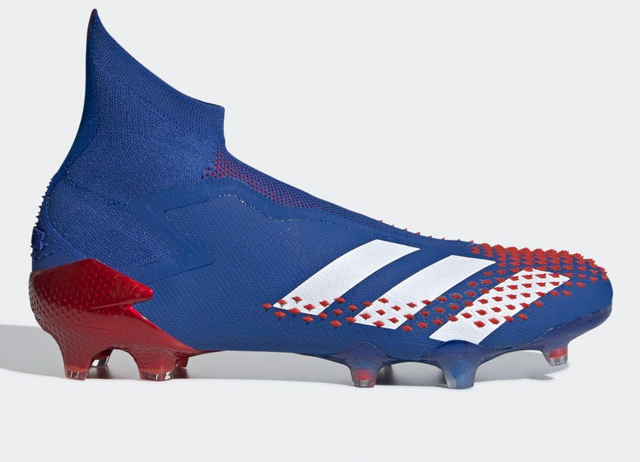 Adidas Predator Mutator 20 Fg Tormentor Team Royal Blue Cloud White Active Red Adidasfootball Footballboots In 2020 Adidas Predator Football Boots Blue Clouds