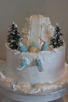 Cakes on Pinterest | Skiing, Snowboarding and 21st Birthday Cakes