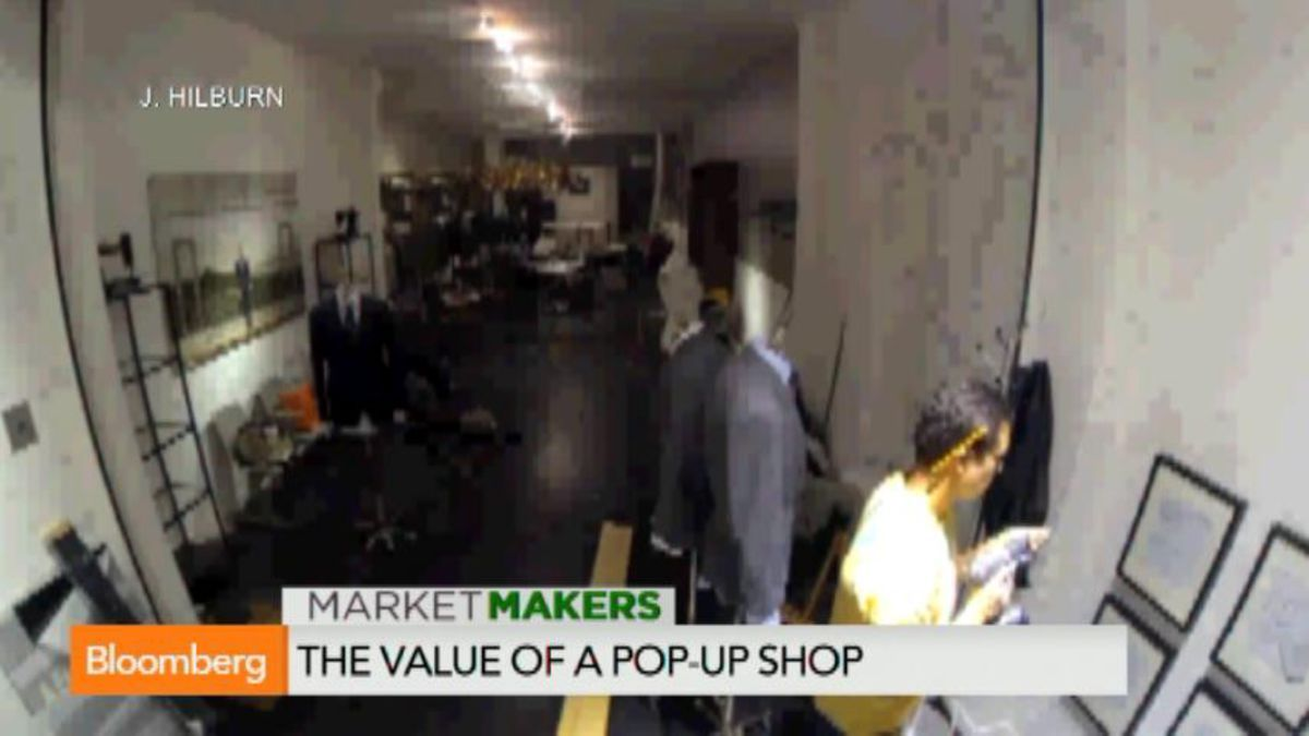An Inside Look at the Pop-Up Retail Phenomenon- Bloomberg Buisness