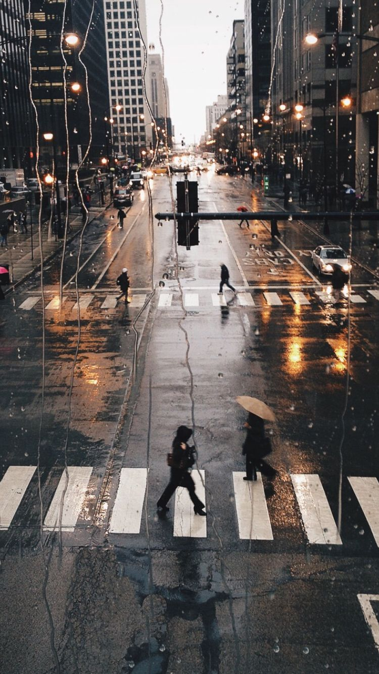 Rain iphone wallpaper tumblr - Rainy Ny Find More Travelicious Wallpapers For Your