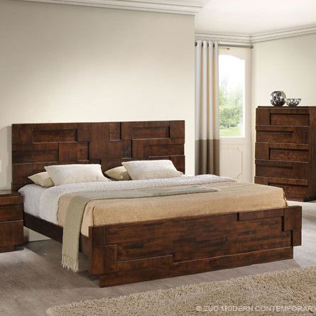 Best San Diego Sleigh Bed With Images Mid Century Modern 640 x 480