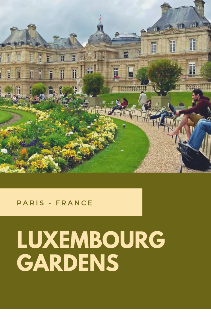 Luxembourg Gardens Jardin Du Luxembourg Paris Luxembourg