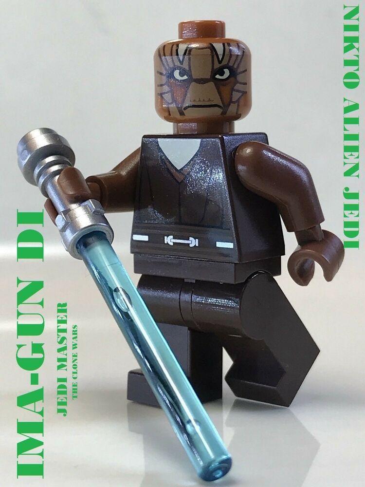 Lego Star Wars Jedi Ima Gun Di The Clone Wars Series Geonosis Arena