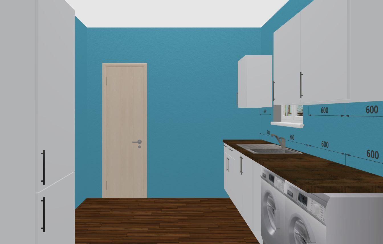 Glossy Grey Kitchen with Granite Worktops. Design Your Own Kitchen ...