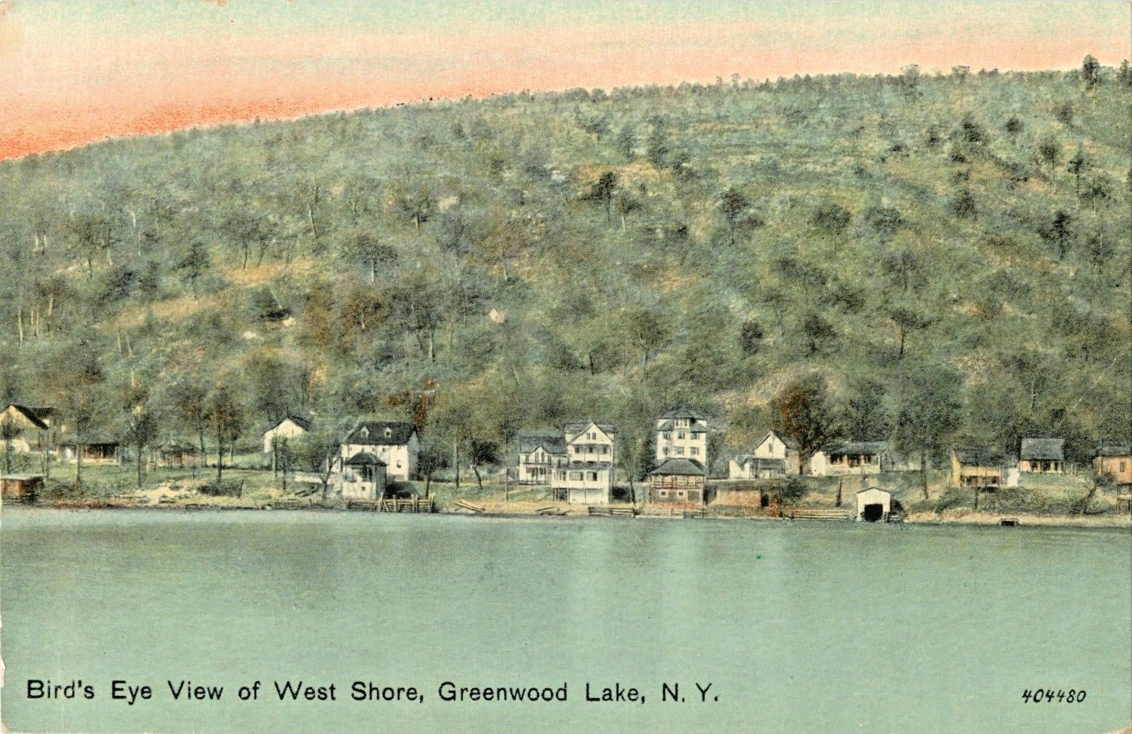 A Birds Eye View Of The West Shore Greenwood Lake New York NY