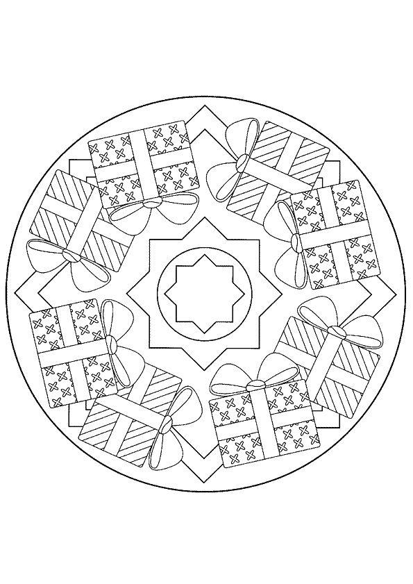Kleurplaat Mandala Kleurplaten 5238 Kadootjes Kleurplaten En