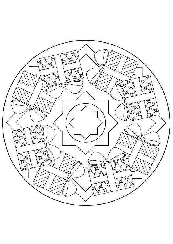 sinterklaas kleurplaten mandalas