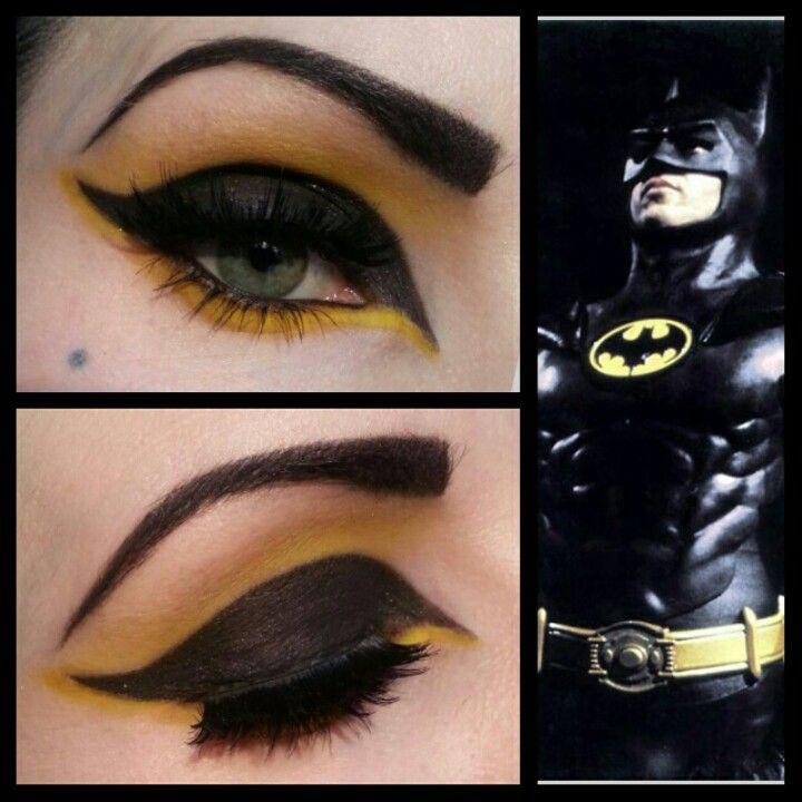 Batman Inspired Eye Makeup Makeup In 2018 Pinterest Makeup