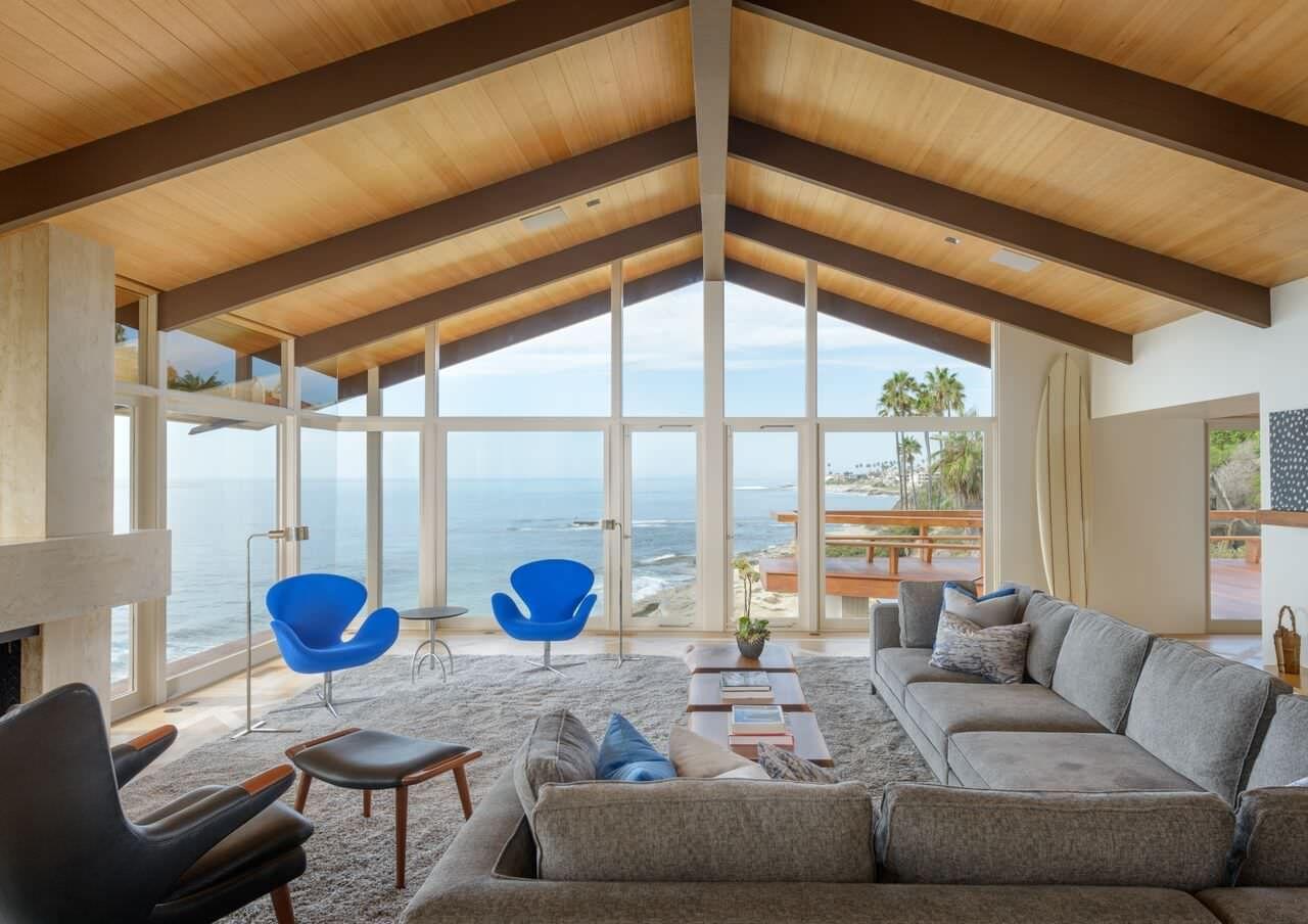 Modern Beach House By Eddie Lee Beautiful Living Rooms