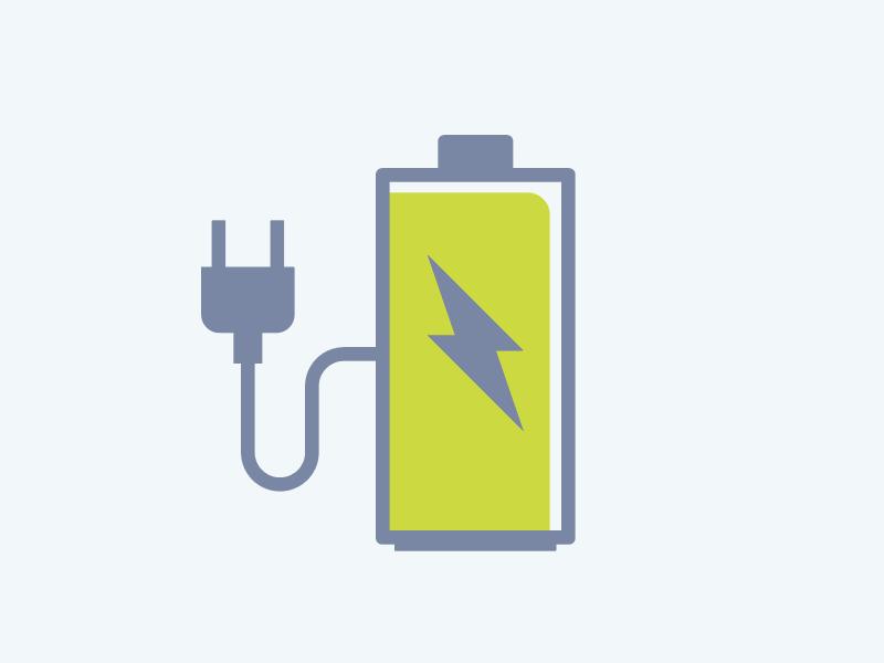 Battery Icon Logo Design Inspiration Battery Icon Logo Design