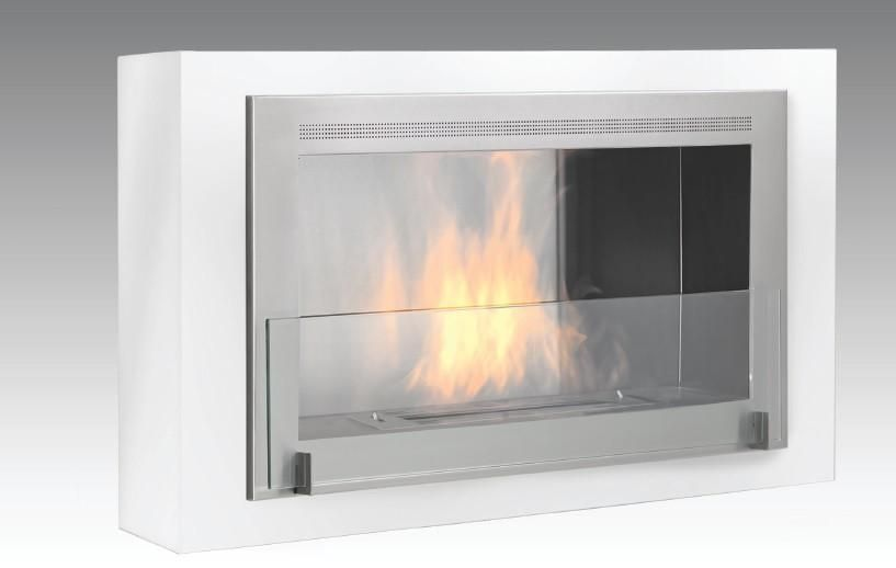 """Eco-Feu Montreal - 42"""" UL Listed Wall Mounted / Built - In Ethanol Fireplace"""