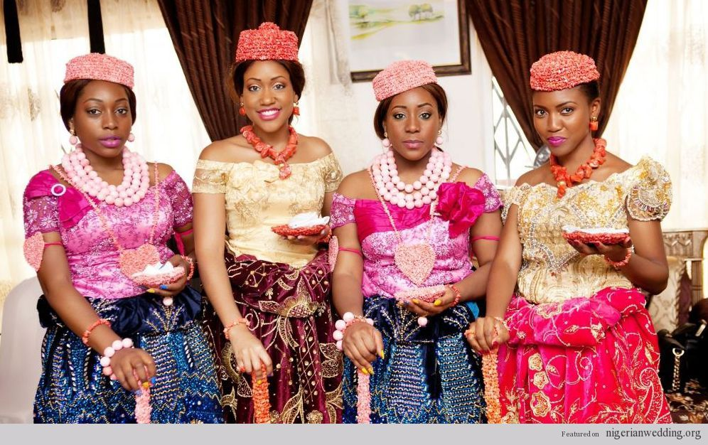 Nigerian wedding rivers kalabari brides libran eye | Nigerian ...
