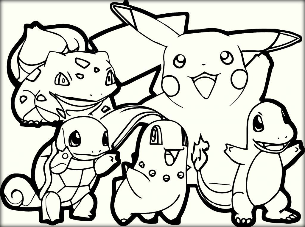 Free Printable Pokemon Coloring Pages For Kids Pokemon Coloring
