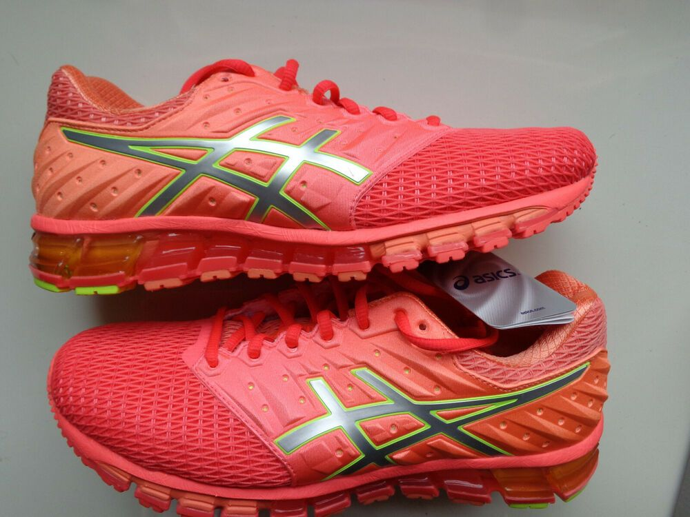 Asics Gel Quantum 180 2 Womens Running Diva Pink Silver Coral Size