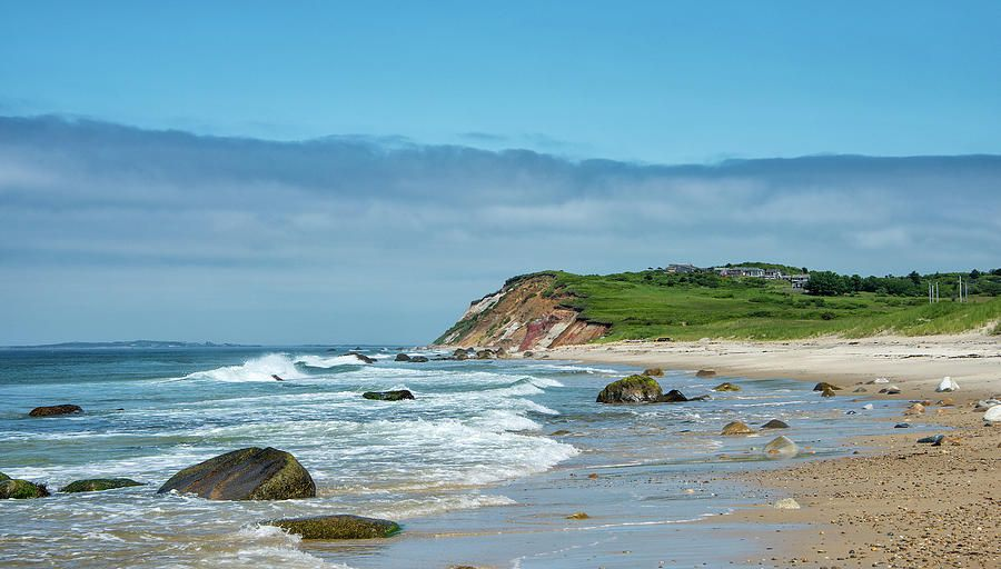 Moshup Beach on Marthas Vineyard - Massachusetts